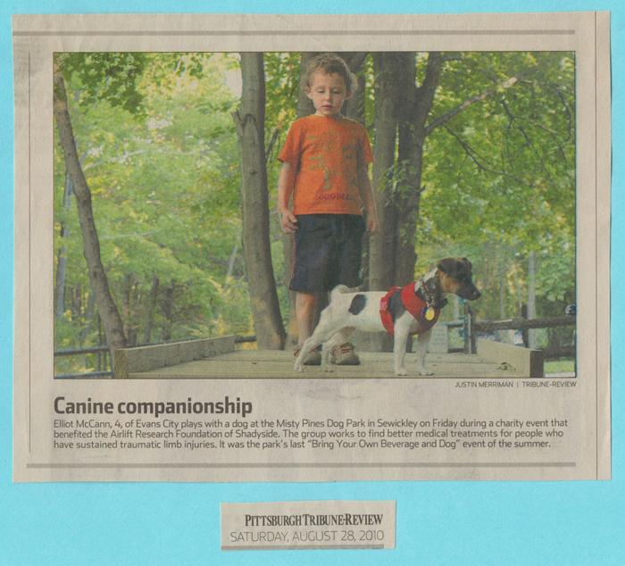 Newspaper Clipping regarding the 2010 BYOB & D